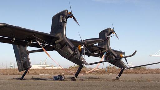Летающий ветрогенератор Wing 7