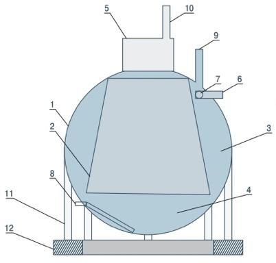 Сферический-метантенк-септик