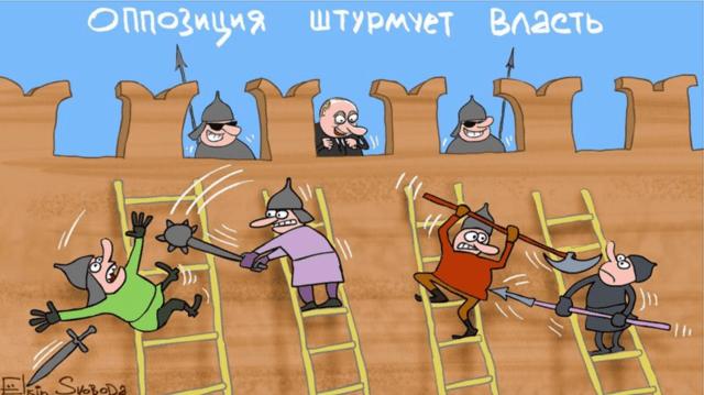 оппозиция штурмует власть
