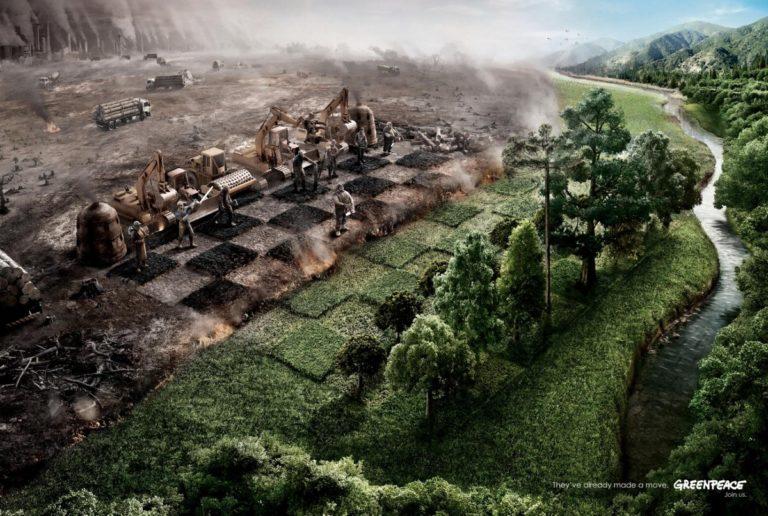 Зелёный мир и чёрная Россия